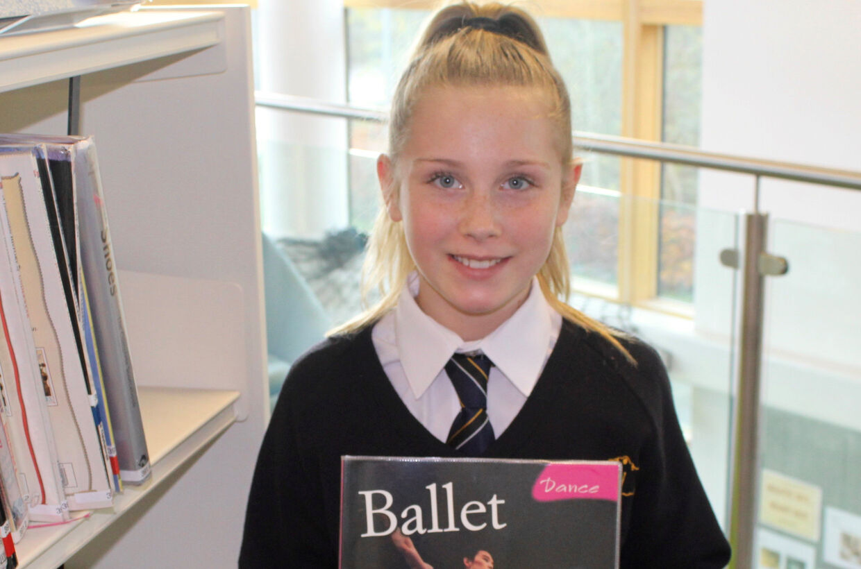 Award winning dancer, 11, sets sights on training the dancers of the future